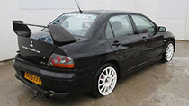 Mitsubishi Lancer Evolution VIII parts