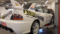 Group N Mitsubishi Lancer Evolution IX rally car for sale