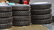 Witer rally tyres and wheels - R14, R15, R16