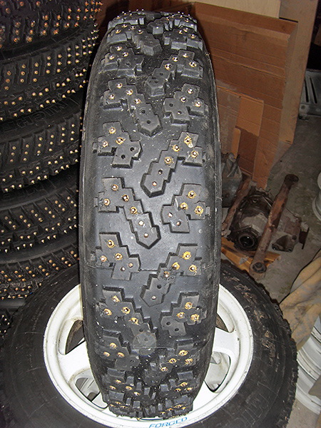 Winter rally tyres and wheels | Evoparts.lv